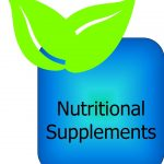 Square Leaf box - nutritional supplements